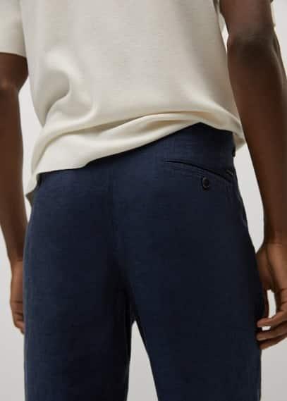Мужские брюки Mango (Манго) 17010051: изображение 4