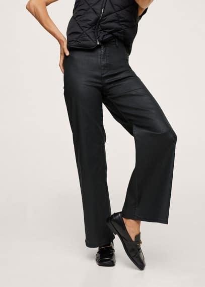 Широкие и расклешенные джинсы Mango (Манго) 17015916