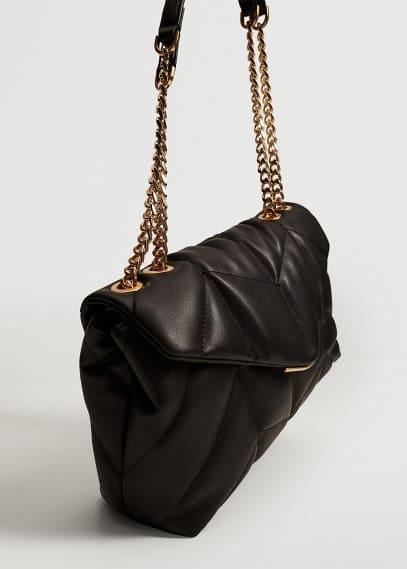 Сумка Mango (Манго) Стеганая сумка с цепочкой - Sierra