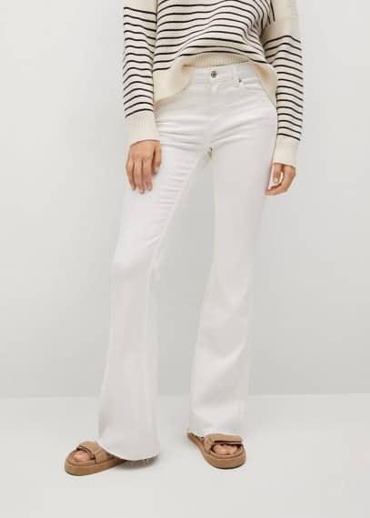 Широкие и расклешенные джинсы Mango (Манго) Расклешенные джинсы Flare - Flare