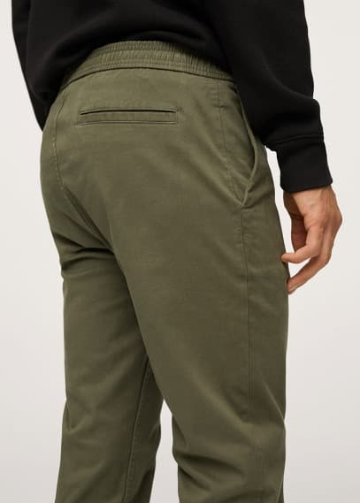 Мужские брюки Mango (Манго) 17024003: изображение 3
