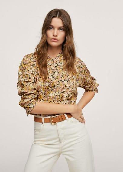 Блуза Mango (Манго) Блузка 100% хлопок - Diana