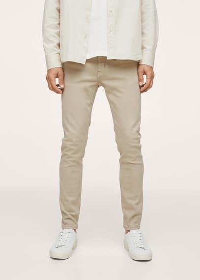 Мужские джинсы Mango (Манго) Цветные джинсы скинни - Billy