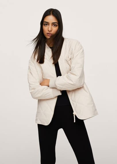 Утепленная куртка Mango (Манго) 17024386