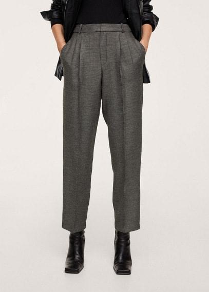 Женские классические брюки Mango (Манго) Брюки с защипами - Manuela-i