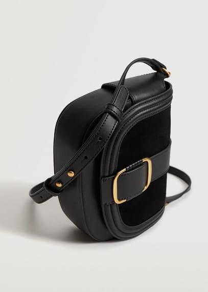 Сумка Mango (Манго) Кожаная сумка с пряжкой - Dalias