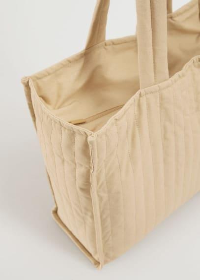 Сумка Mango (Манго) Стёганая сумка-шоппер  - Quilt