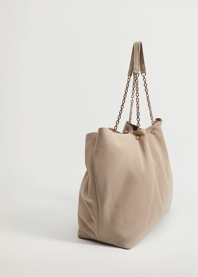 Кожаная сумка шоппер - Macine