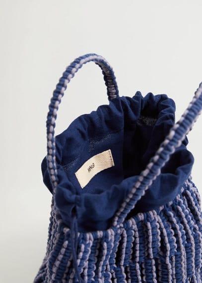 Сумка Mango (Манго) Плетеная сумка-торба - Embolo