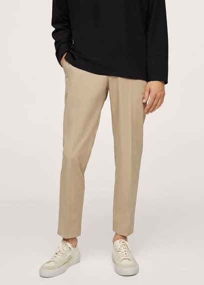 Мужские брюки Mango (Манго) 17044016: изображение 2