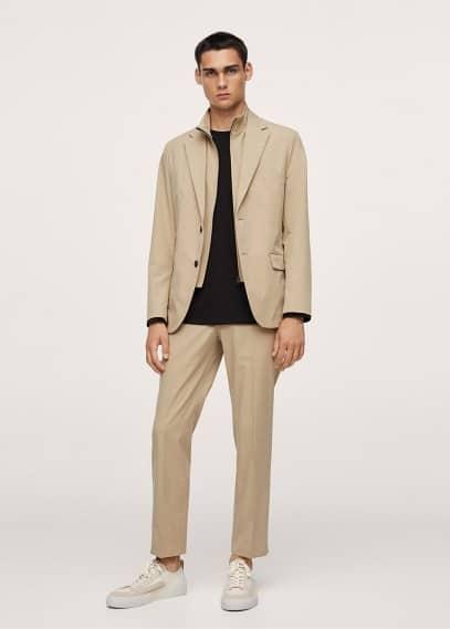 Мужские брюки Mango (Манго) 17044016: изображение 3