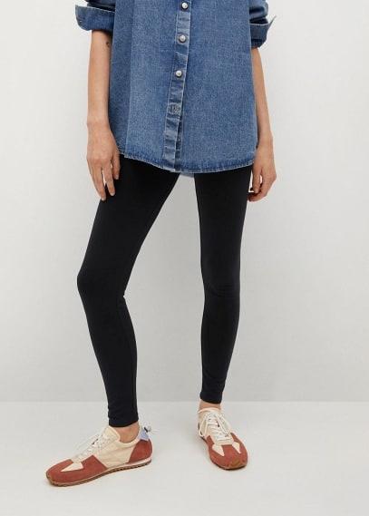 Женские брюки Mango (Манго) Легинсы базовой модели - Stars-h