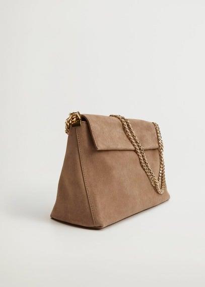Кожаная сумка с цепочкой - Tossa