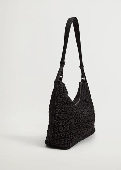 Сумка Mango (Манго) Плетеная сумка из рафии - Holbox