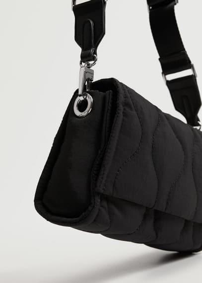Сумка Mango (Манго) Простёганная сумка на длинной ручке - Cold