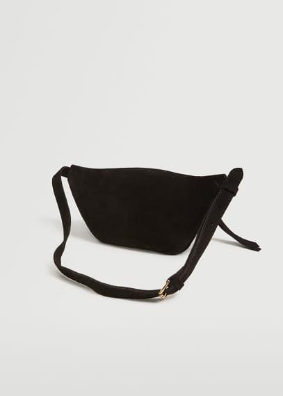 Сумка Mango (Манго) Поясная сумка из кожи  - Alicante