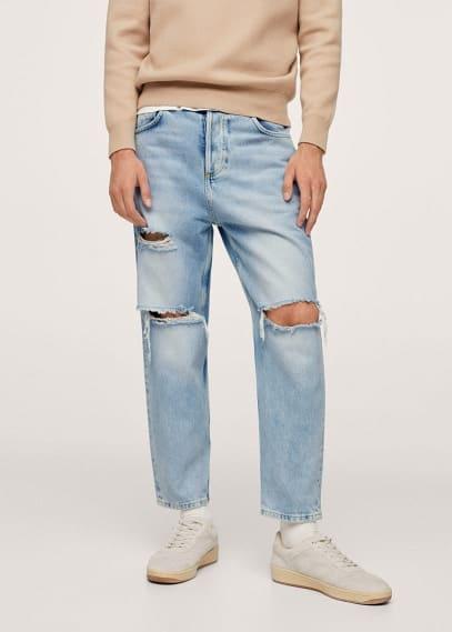 Мужские джинсы Mango (Манго) 17065942: изображение 2