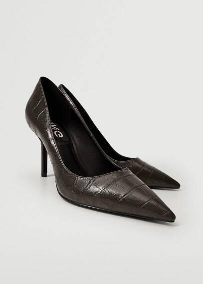 Женские ботинки Mango (Манго) Туфли-лодочки с заостренным мысом - Lora