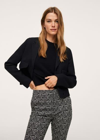 Женские прямые брюки Mango (Манго) 17073788