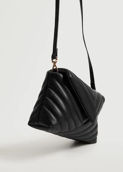 Сумка Mango (Манго) Простёганная сумка на длинной ручке - Pointy