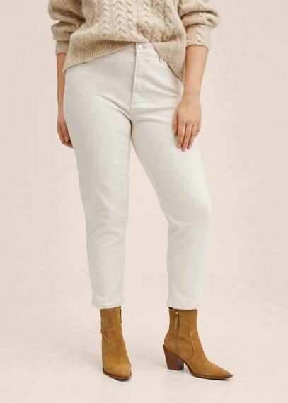 Женские джинсы Mango (Манго) Джинсы Mom-fit - Newmom