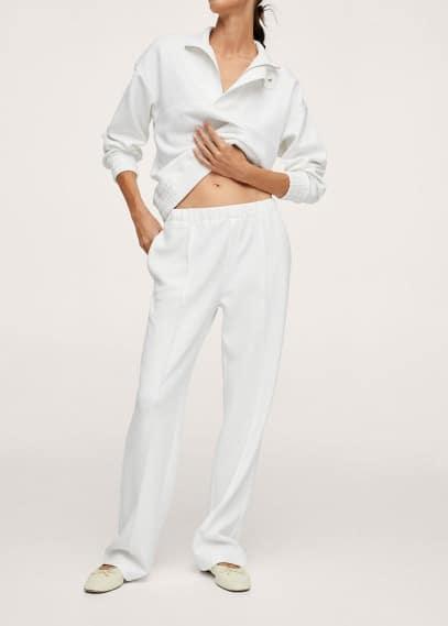 Женские широкие и расклешенные брюки Mango (Манго) 17083779