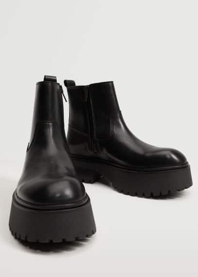 Женские ботинки Mango (Манго) 17083780