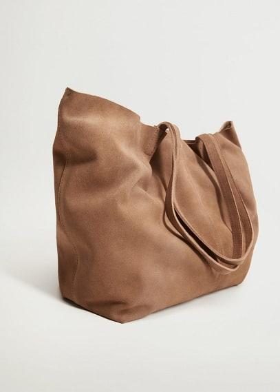 Кожаная сумка шоппер - Sonia