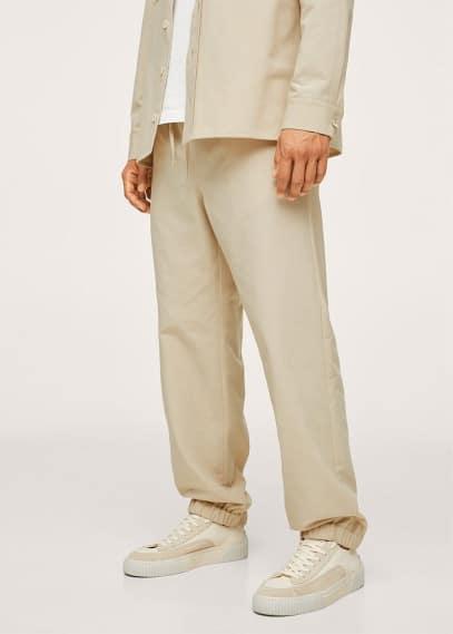 Мужские брюки Mango (Манго) 17094769