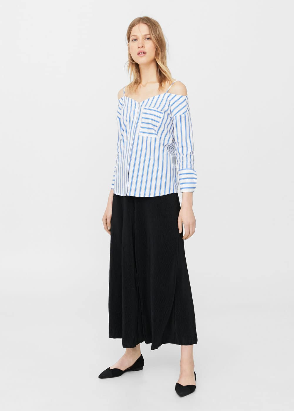 Flowy palazzo trousers | MNG