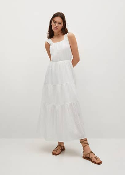 Платье с открытой спиной - Coquet