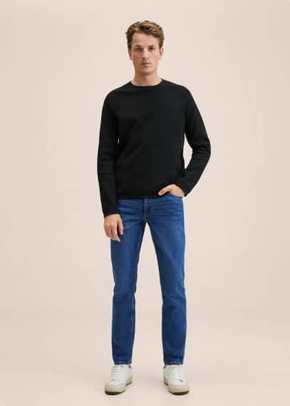 Slim-fit dark Jan jeans dark blue