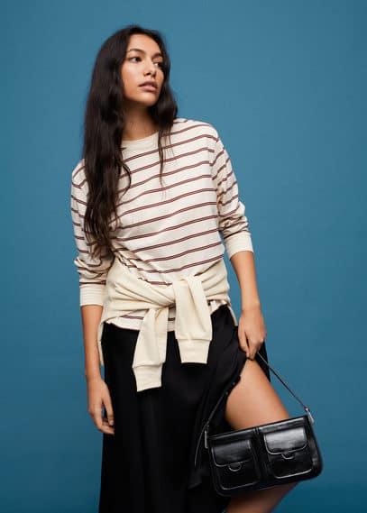 Сумка на плечевом ремне с карманами - Layna