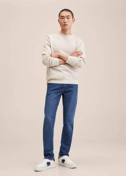 Straight-fit dark Bob jeans dark blue