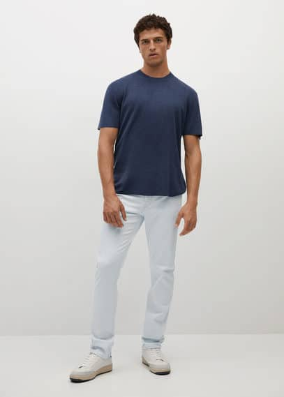 Slim fit Ultra Soft Touch Patrick jeans bleach blue