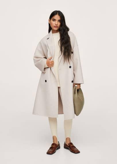 Двубортное пальто ручной работы - Picarol