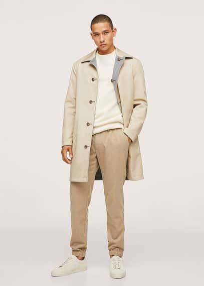 Cashmere wool sweater medium heather grey
