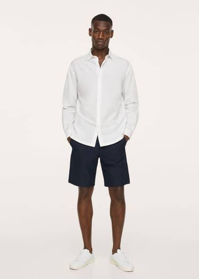 Chino Bermuda shorts black