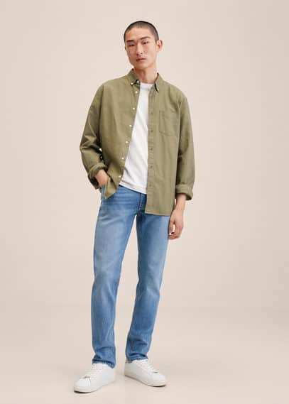 Slim fit medium wash Jan Jeans medium blue