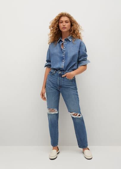 Женские джинсы Mango (Манго) 17011510: изображение 1