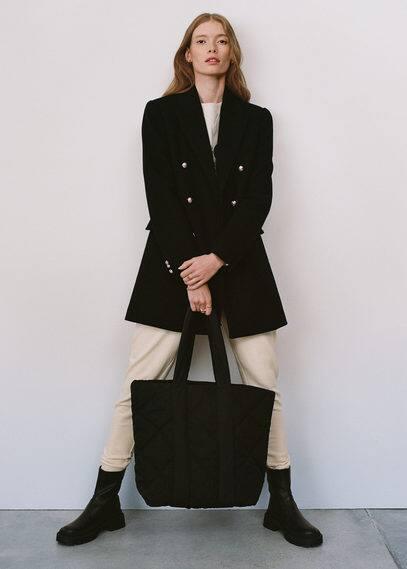 Стёганая сумка-шоппер  - Grecia