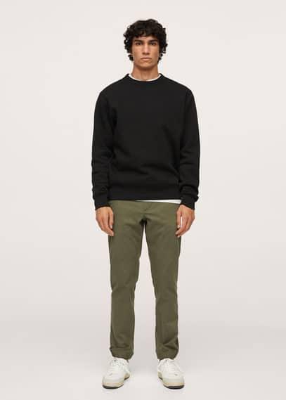Мужские брюки Mango (Манго) 17024003: изображение 1