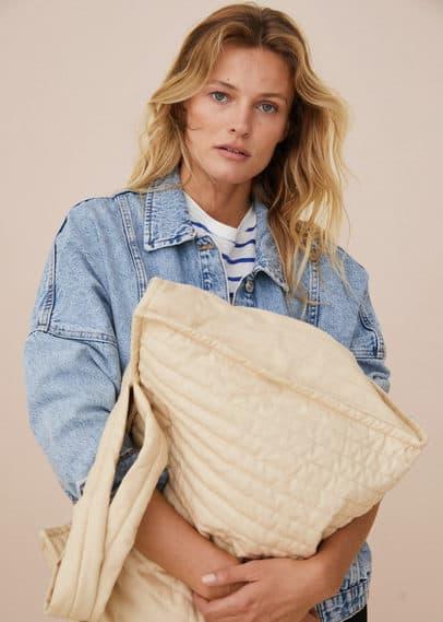 Стёганая сумка-шоппер  - Quilt
