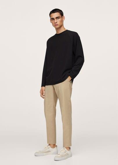 Мужские брюки Mango (Манго) 17044016: изображение 1