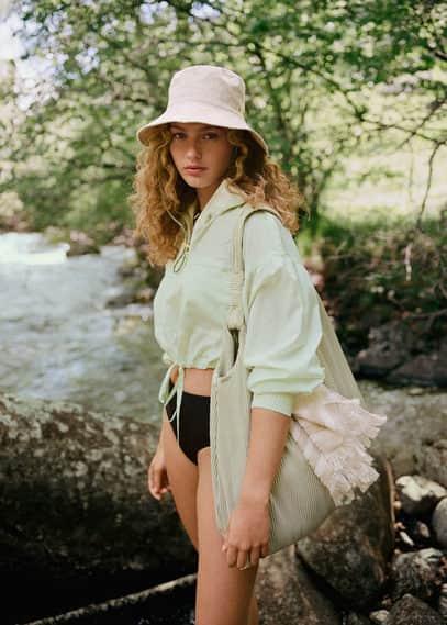 Сумка-торба с плиссировкой - Cefalu