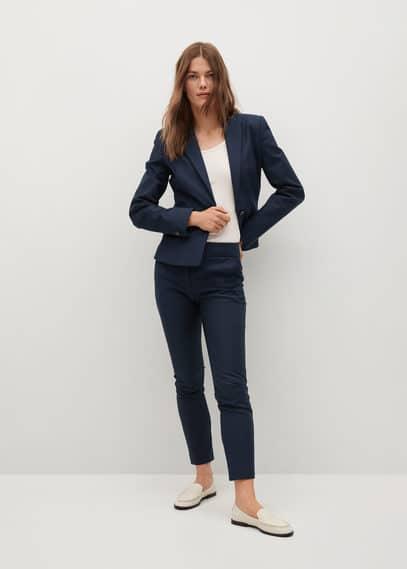 Костюмные брюки-дудочки - Cofi7-a
