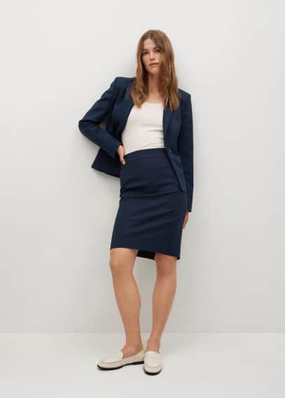 Хлопковая юбка-карандаш - Cofi7-a