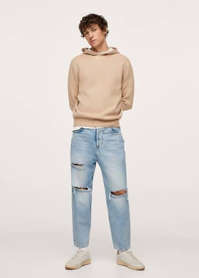 Мужские джинсы Mango (Манго) 17065942: изображение 1