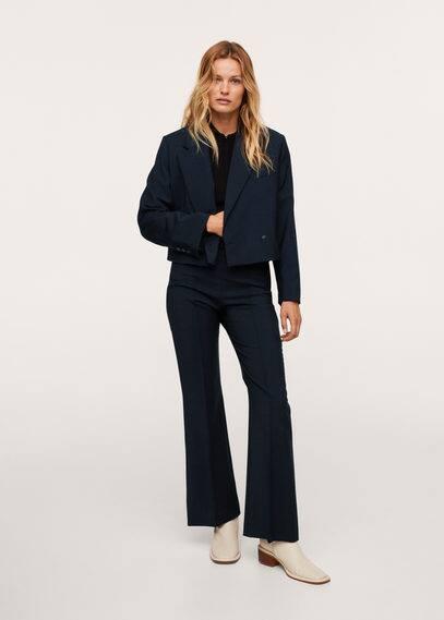 Шерстяные костюмные брюки - Emily