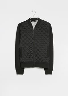 Quilted bomber jacket - Women | MANGO USA